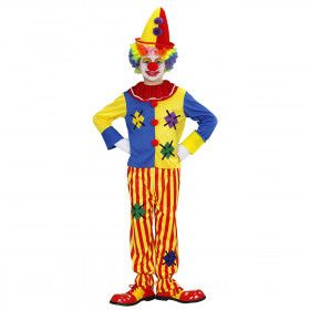 Circus Clown Kind Kostuum Jongen