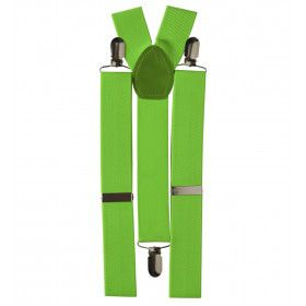 Klassieke Bretels, Neon Groen