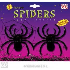 2 Fluwelen Spinnen, 10 Centimeter