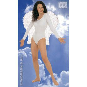Veren Vleugel Engel, 64x67 Centimeter In Wit