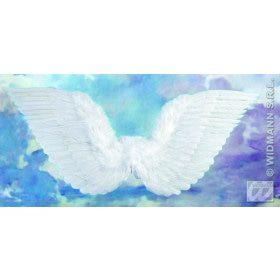 Gevederde Vleugels Wit 86x31 Centimeter