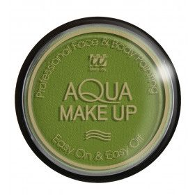 Aqua Make-Up 15gr, Groen