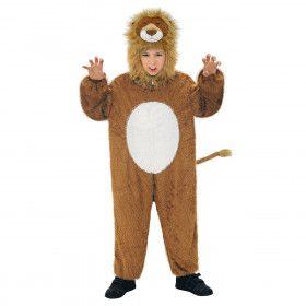 Full-Body Pluche Leeuw Kind Kostuum Kind