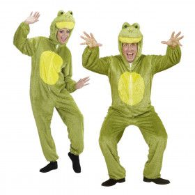 Full-Body Pluche Kikker Volwassen Kostuum