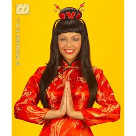 Pruik, China Girl