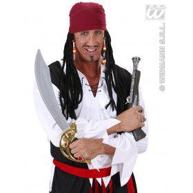 Pruik, Caraibische Piraat Met Bandana