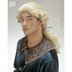 Pruik Graaf Nelson Blond