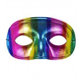 Extravagant Oogmasker Regenboog Metallic