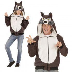 Cute Hoodie, Wolf Kostuum