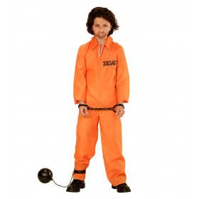 Gevangene Jongen Kostuum