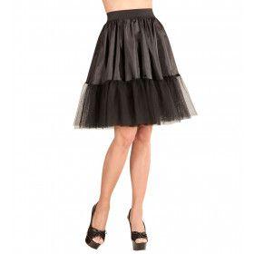Petticoat Zwart Arkansas