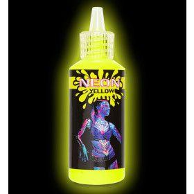 Glow In The Dark Make-Up Spray, Neon Geel