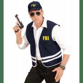 FBI Vest Met Cap Volwassen