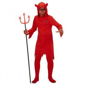 Rode Duivel Kind Kind Kostuum