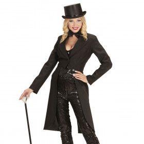 Showlady Zwarte Frackjas Vrouw