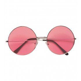 Freaky Bril, 70s Roze Glas