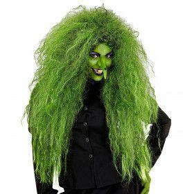 Pruik Bad Hairday Heks
