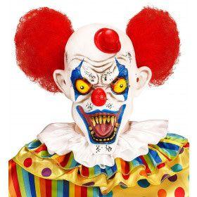 Masker Killer Clown Stefan Met Haar En Hoedje