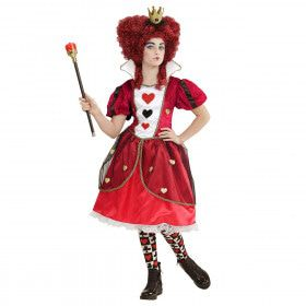 Queen Of Hearts Shuckles Meisje Kostuum