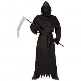 Grafschender Bart Zwart Man Kostuum