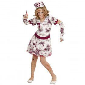 Zombie Izzy Verpleegster Meisje Kostuum