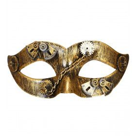 Steampunk Oogmasker Mechanica