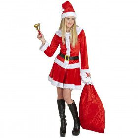 Miss Santa Welcome Vrouw Kostuum