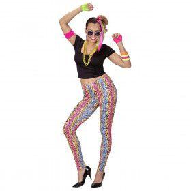 80s Meisje Malonna Vrouw Kostuum