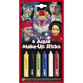 Aqua Make-Up Stiften Per 6
