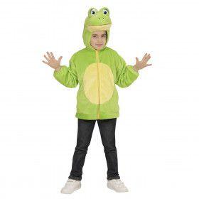 Hoodie 98 Centimeter Groene Sloot Kikker Kind