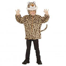 Hoodie 98 Centimeter Gespikkeld Luipaard