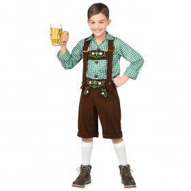 Jong Geleerd Bierfeest Jongen Kostuum