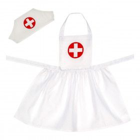 Professionele Set Verpleegster Meisje Kostuum