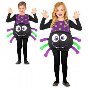 Grote Giftige Griezel Spin Kind Kostuum