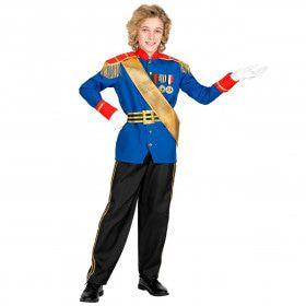 Charmante Prins Sprookjes Koninkrijk Jongen Kostuum