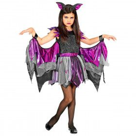 Vreeswekkende Vleermuis Duistere Nachten Meisje Kostuum
