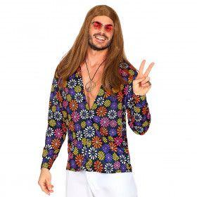 Shirt Vol Madeliefjes Hippie Man