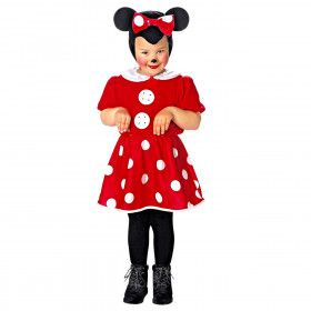 Beroemde Tekenfilm Muis Minnie Meisje Kostuum