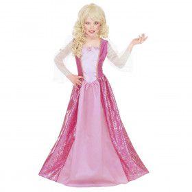 Beeldschone Barbara Prinses Meisje Kostuum