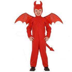 Donderse Duivel Hete Hel Kind Kostuum