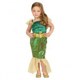 Warm Water Zeemeermin Tropisch Eiland Meisje Kostuum