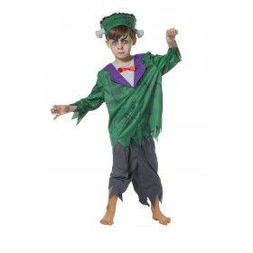 Born As Frankenstein Jongen Kostuum