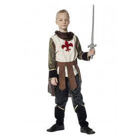 Adellijke Ridder Luxe Jongen Kostuum