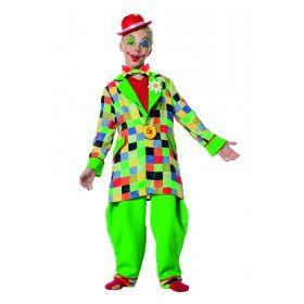 Funky Funk Clown Jongen Kostuum
