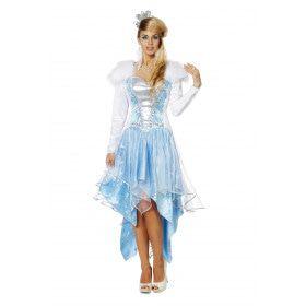 Kristel De IJskoningin Vrouw Kostuum