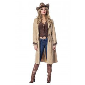 Ride Along Cowgirl Luxe Vrouw Kostuum