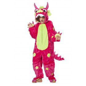 Monsterlijk Lief Monster Roze Kind Kostuum