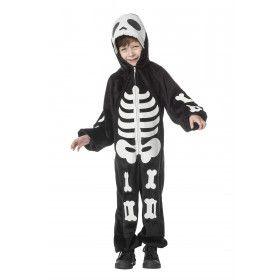 Spooky Geraamte Kind Kostuum