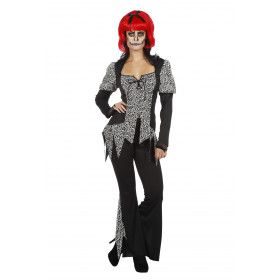 Zombie Heks Hertha Vrouw Kostuum