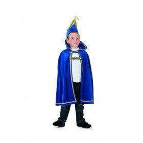 Prins Carnaval Kielegat Blauw Jongen Kostuum